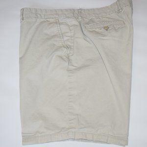 """Old Navy Ultimate Slim Chino 9"""" Shorts Khaki 38"""